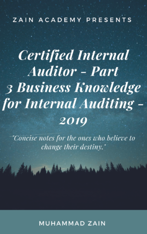 cia part 3 business knowledge for internal auditing 2019
