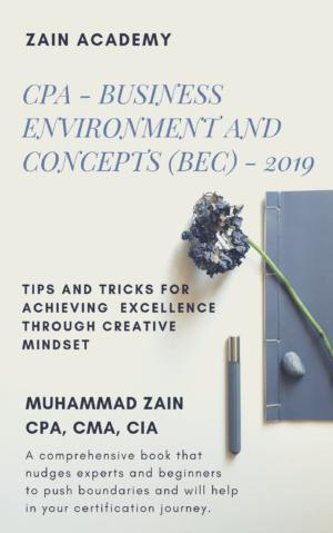 CPA BEC Study Book 2019