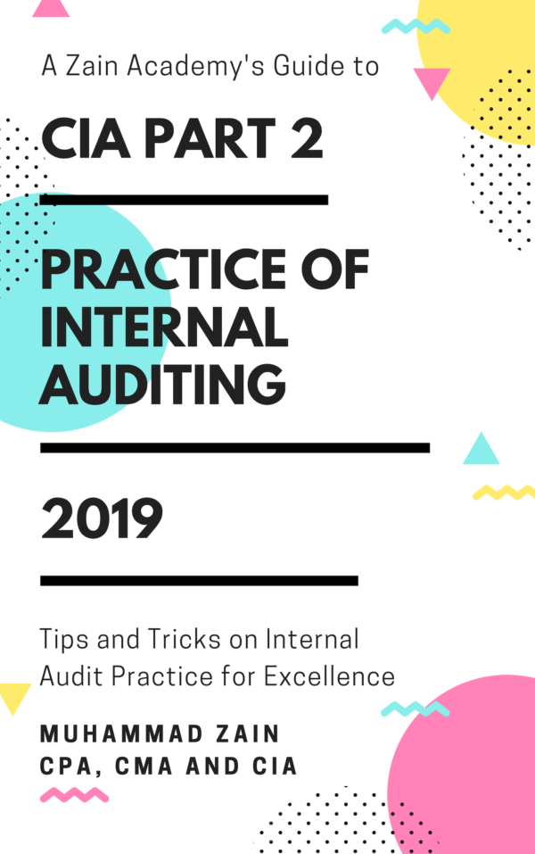 cia part 2 practice of internal auditing 2019