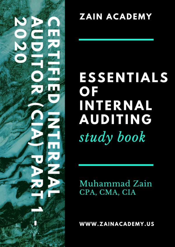 cia part 1 essentials of internal auditing 2020