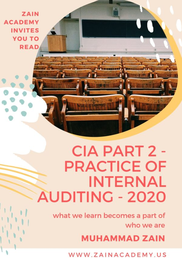 cia part 2 practice of internal auditing 2020