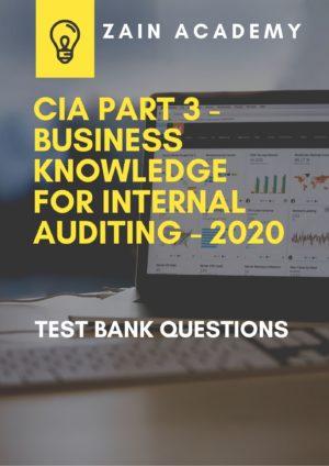 cia part 3 test bank questions 2020