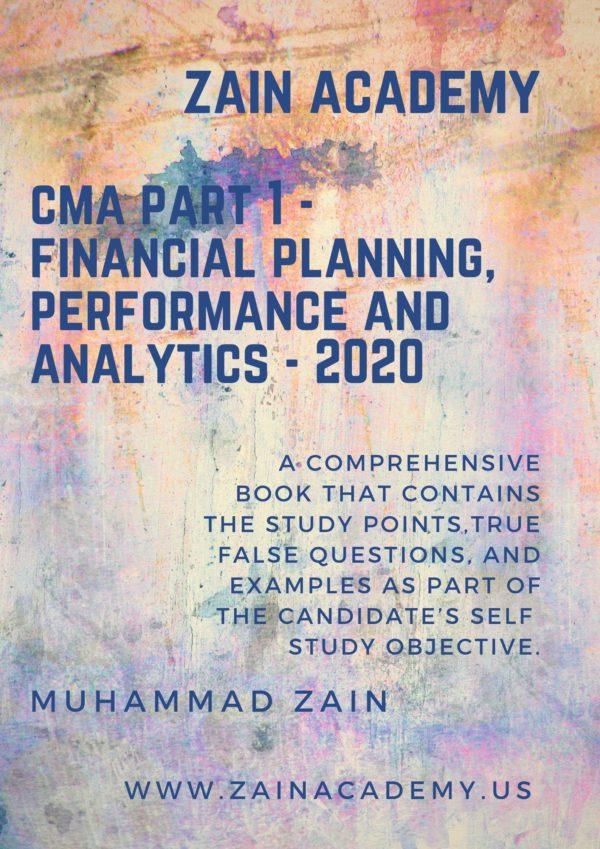 cma part 1 study book 2020