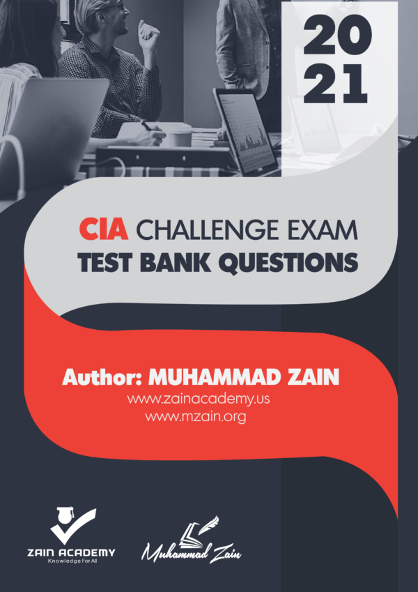 CIA Challenge Exam Test Bank Questions 2021