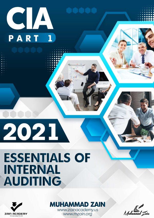 CIA Part 1 Essentials of Internal Auditing 2021