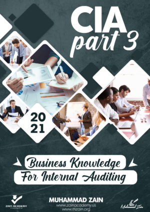 CIA Part 3 Business Knowledge for Internal Auditing 2021