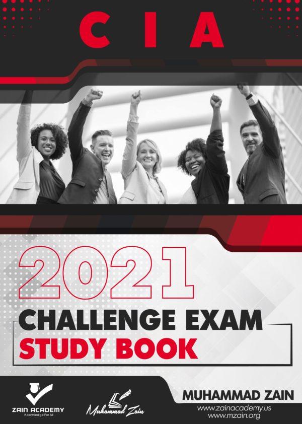 cia challenge exam study book 2021