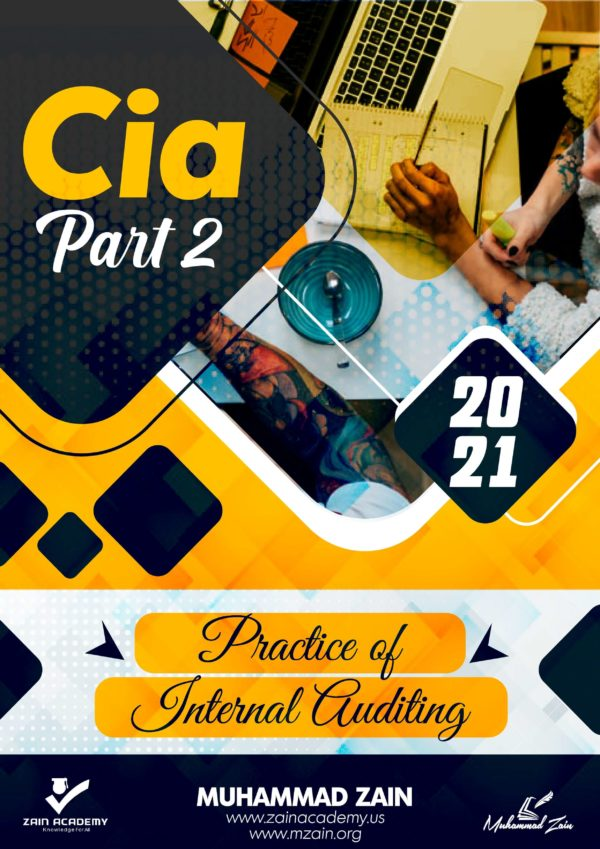 cia part 2 practice of internal auditing 2021