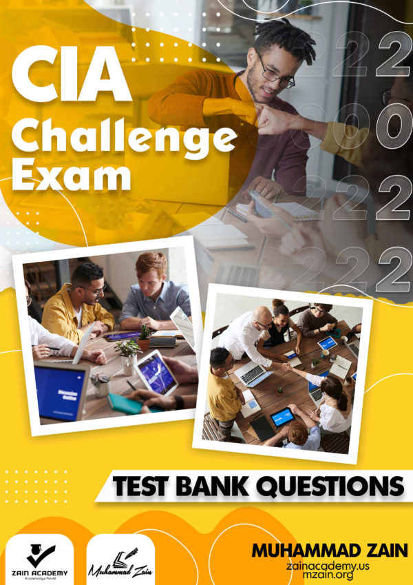 cia challenge exam test bank questions 2022